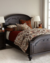 Horchow Alastair Carved King Bed