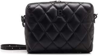 Balenciaga Monogram Plaque Quilted Crossbody Bag