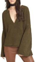 Free People Women's Lovely Lines Bell Sleeve Sweater