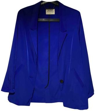 Non Signã© / Unsigned Oversize Blue Polyester Jackets