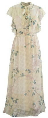 RED Valentino Long printed dress