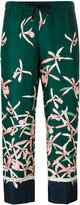 Moncler floral print trousers - women - Silk - 44