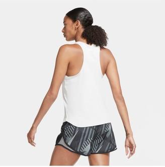 Nike Running Swoosh Tank - White