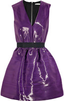 Victoria Beckham Satin-crepe bell dress