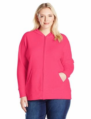 Just My Size Women's Plus Size Full-Zip Hoodie