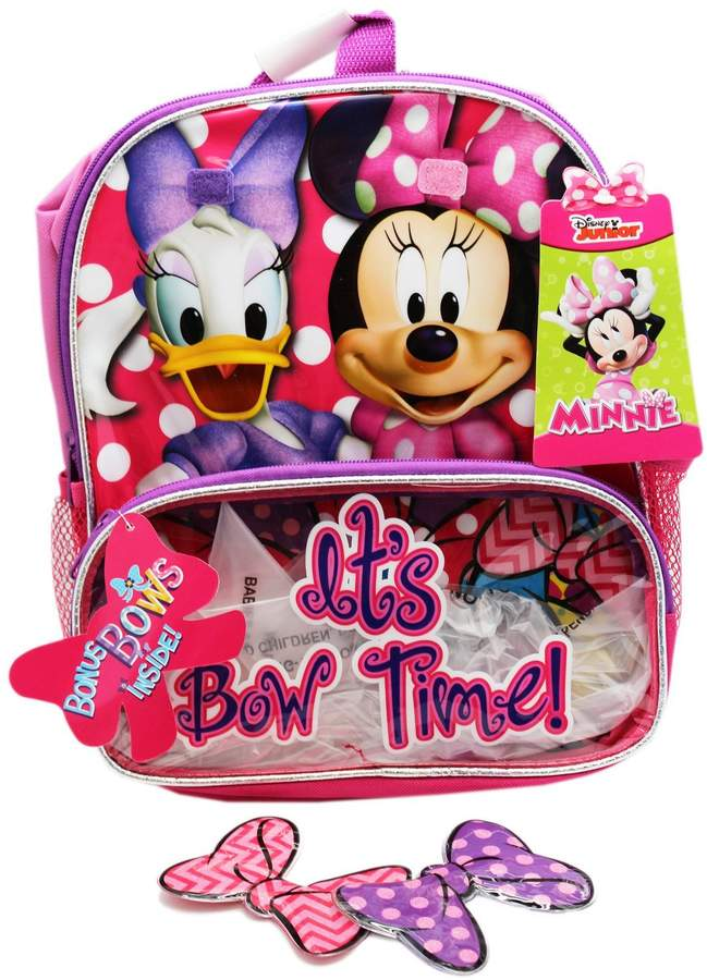 Disney Backpack Minnie Mouse & Daisy w/Bows New 364617