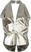 Isabel Marant halterneck metallic top