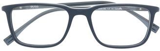 HUGO BOSS Rectangle-Frame Sunglasses