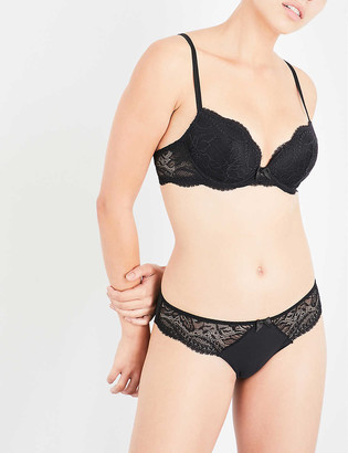 Simone Perele Eden Chic floral-lace push-up bra