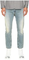 Marc Jacobs Straight Leg Denim in Bleach Wash Men's Jeans