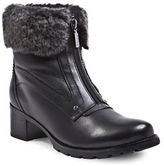 Blondo Formosa Sheepskin Collar Ankle Boots