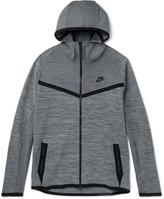 Nike Mélange Tech Knit Zip-Up Hoodie