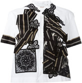 Antonio Marras patchwork shirt - women - Cotton/Polyamide/Spandex/Elastane - 42