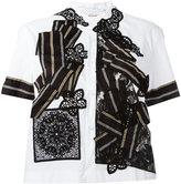 Antonio Marras patchwork shirt - women - Cotton/Polyamide/Spandex/Elastane - 44