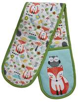 George Home Knit-Effect Woodland Animals Oven Glove