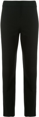 Emporio Armani High-Rise Cropped Trousers