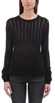 A.L.C. Women's Miguel Split-Back Lace-Up Sweater
