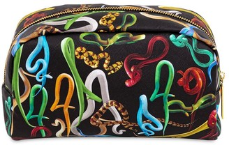 Seletti Snakes Print Beauty Case