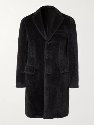 Brioni Slim-Fit Alpaca and Virgin Wool-Blend Coat - Men - Gray