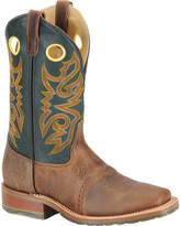 "Roper Men's Double H 11"" Domestic Wide Square Toe ICE"