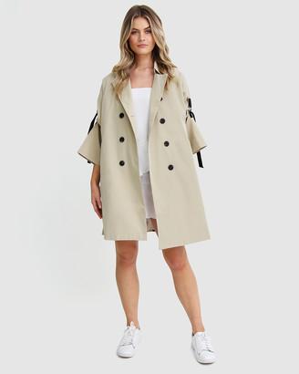 Belle & Bloom Russian Romance Oversized Trench Coat