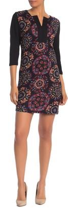 Papillon Kaleidoscope Print Shift Dress