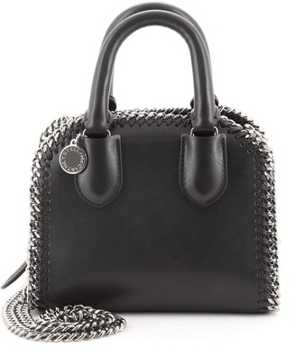 Stella McCartney Falabella Box Top Handle Bag Faux Leather Tiny