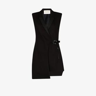Alyx Buckle Tuxedo Mini Dress