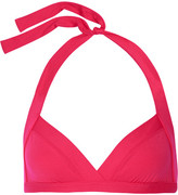 Eres Les Essentiels Vedette Halterneck Bikini Top - Fuchsia