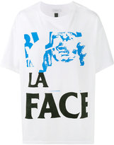 Facetasm printed la face t-shirt - men - Cotton - One Size