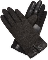 Isotoner smarTouch Brushed Tweed Gloves