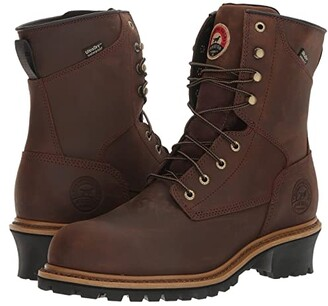 Irish Setter Mesabi 8 Steel Toe (Brown) Men's Work Boots
