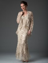 Soulmates D7069 Hand Croched Dress And Jacket