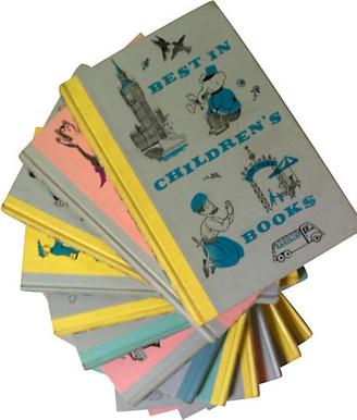 One Kings Lane Vintage Best in Children's Books - Set of 13 - Brandywine Bookshop - multi