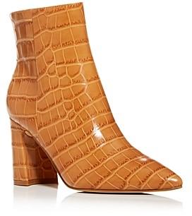 Marc Fisher Women's Daith Croc-Embossed Booties