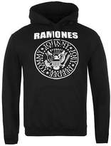 Official Mens Ramones Hoody Over The Head Long Sleeve Hooded Top