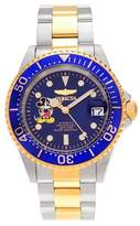 Invicta Men's 22778 Stainless Steel Link Bracelet Watch - Two Tone/Blue