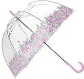 Fulton Ladies Floral Coming Up Roses Birdcage Umbrella