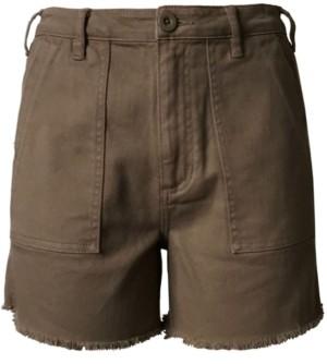 Tinseltown Juniors' High Rise Utility Shorts