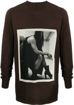 Rick Owens printed Level sweatshirt