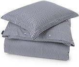Lexington Company Lexington Sateen Stripe Duvet Blue/White 140x200cm