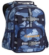 Pottery Barn Kids Pre-K Backpack, Mackenzie Navy Shark Camo