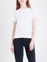 Balenciaga Logo-print cotton-jersey T-shirt