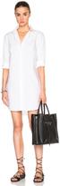Frame Poplin Shirt Dress