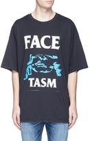 Facetasm Graphic logo print oversized T-shirt