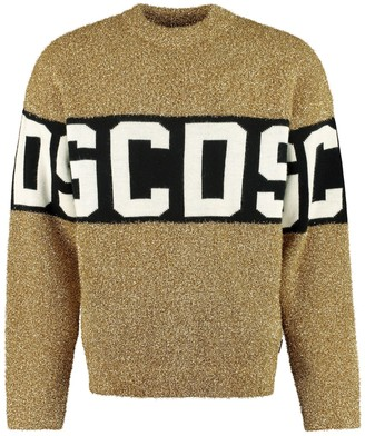 GCDS Long Sleeve Crew-neck Sweater