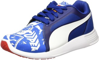 Puma Unisex Kids' Superman ST Trainer Evo Street Jr Low-Top Sneakers Blue Royal White 01 6 UK