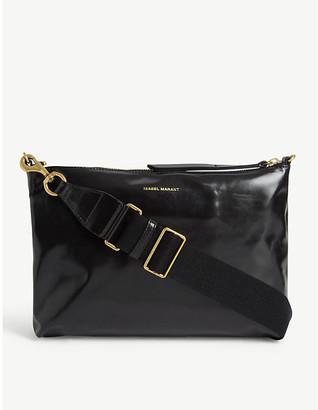 Isabel Marant Nessah leather shoulder bag
