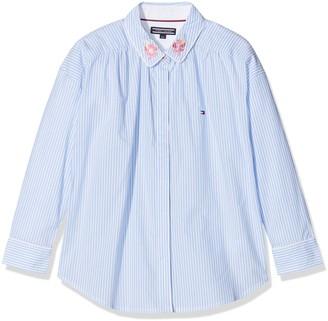 Tommy Hilfiger Girls' Ithaca Stripe Shirt L/s Blouse
