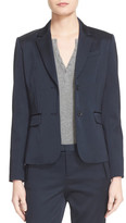 ATM Anthony Thomas Melillo Satin Blazer Jacket
